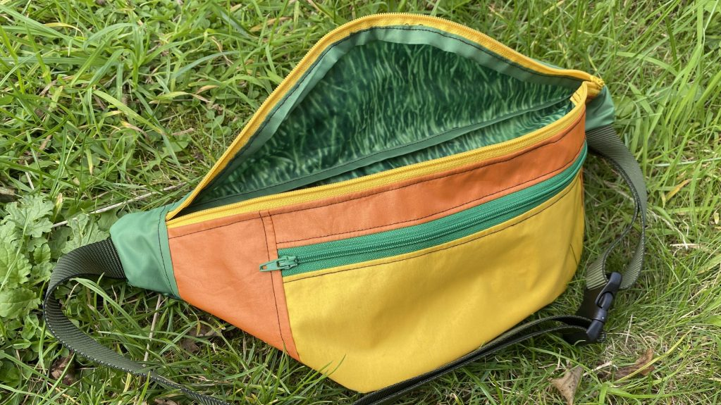 BumBag Orange/Green